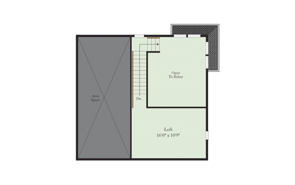 Rutgers-2FL - 2 bedroom floorplan layout with 2 baths and 1395 square feet. (Floor 2)